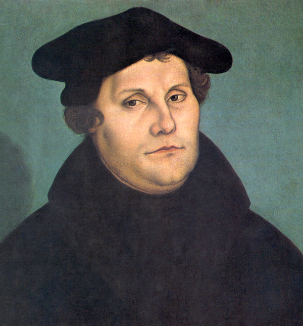 Martin Luther (1529) by Lucas Cranach the Elder