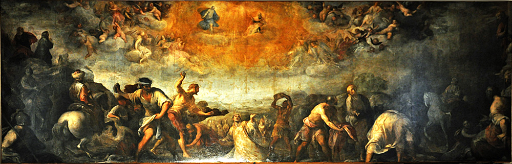 The Martyrdom of St. Stephen - Santo Peranda (1566-1638)