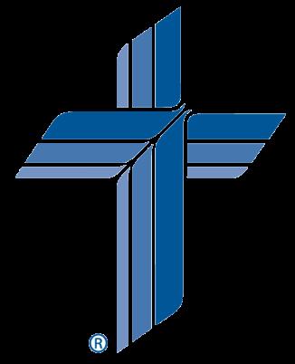 transparent blue cross